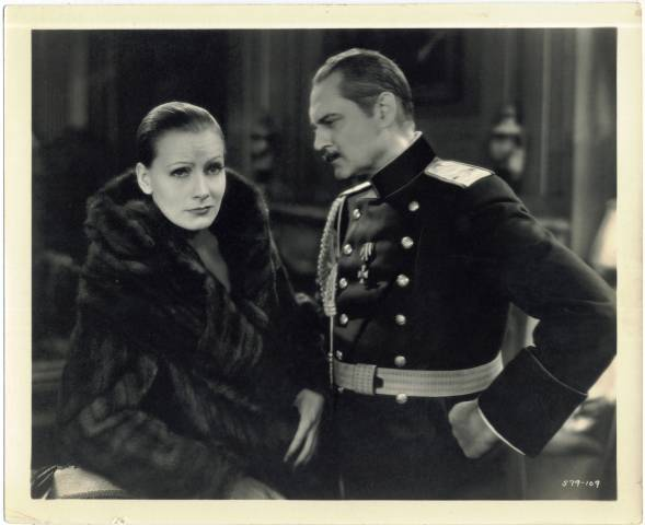 1931 Greta Garbo & Lionel Barrymore Still Photo
