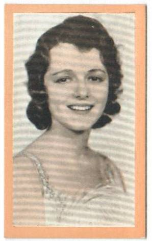 1929-early 1930's Janet Gaynor Premios Coupon Card