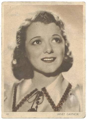 1930's Janet Gaynor Premium from Uruguay