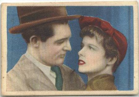 1930's Editorial Bruguera Cromos Cinefoto featuring Katharine Hepburn and Cary Grant