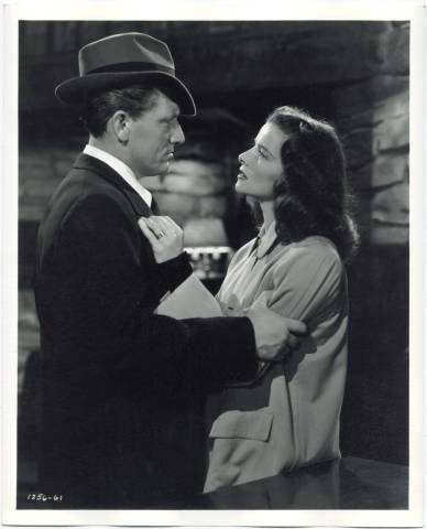 8x10 Promotional Still from Keeper of the Flame starring Spencer Tracy and Katharine Hepburn