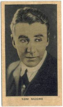 Tom Moore 1928 Wills Film Favourites Tobacco Card