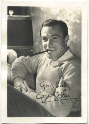 1940s Gene Kelly 3-1/2 x 5 Fan Photo