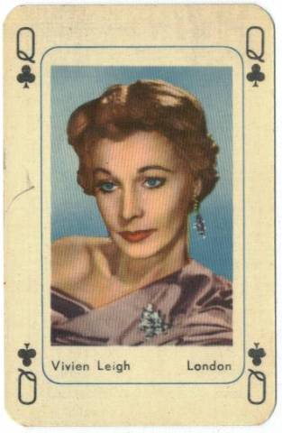 1959 Vivien Leigh R778-1 Maple Leaf Playing Card