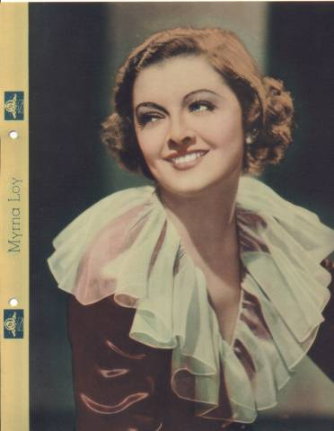 1935 Myrna Loy Dixie Premium Photo