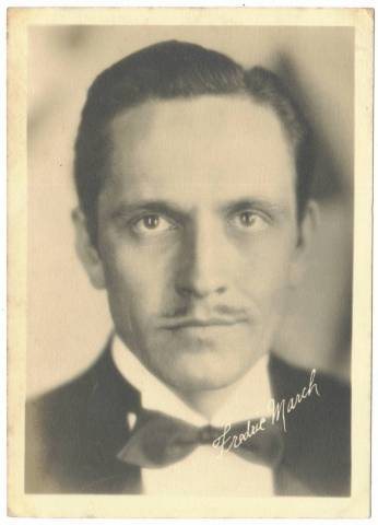 1920s Fredric March Fan Photo