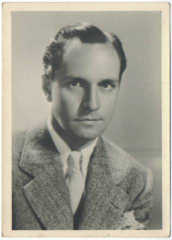 1930s Fredric March Fan Photo