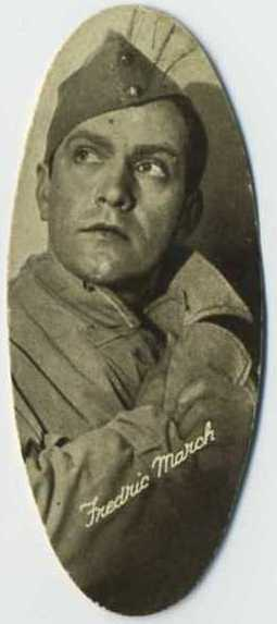 Fredric March - 1934 Carreras Tobacco Card