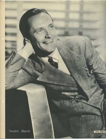 Fredric March 1934 Dixie Premium Photo