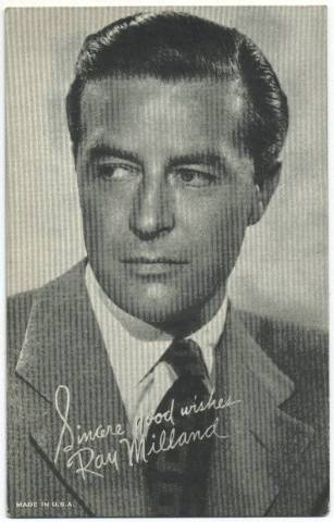 ray milland films