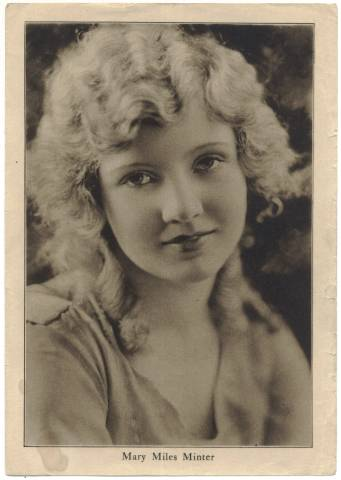 1910's Mary Miles Minter Motion Picture Magazine Premium Photo