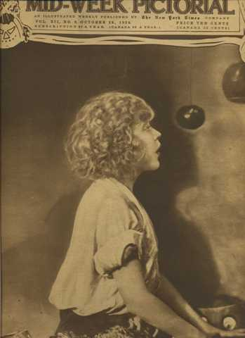Mae Murray on the cover of October 28 1920 Mid-Week Pictorial