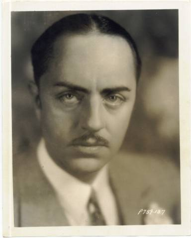 Late 1920's William Powell 8x10 Paramount Publicity Photo