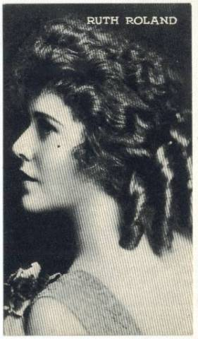 1917 Ruth Roland Kromo Gravure Trading Card (No Borders)