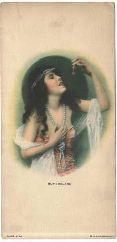 1917 Ruth Roland Strand Theatre Program Card