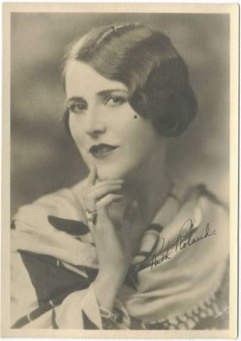 1920s Ruth Roland 5x7 Fan Photo