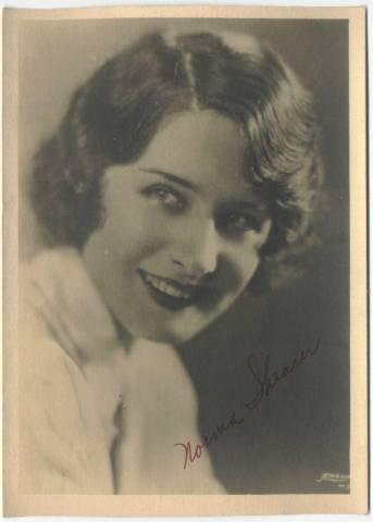 1920's Norma Shearer 5x7 Fan Photo