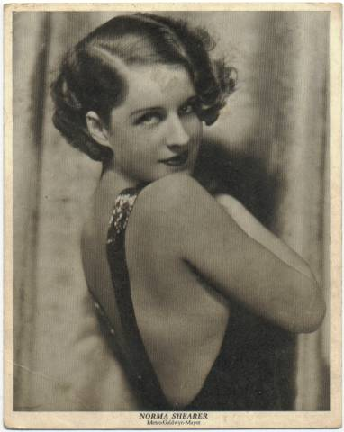 1929 Norma Shearer Movie-Land Keeno Game Card