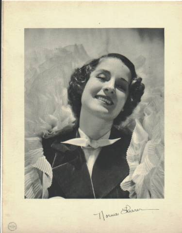 1933 Norma Shearer 9x12 MGM Promotional Photo