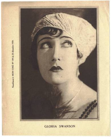December 24 1924 Gloria Swanson Mon Cine Supplement