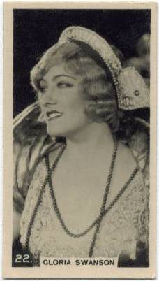 1924 Gloria Swanson BAT Tobacco Card