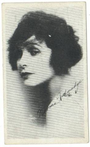 1917 Kromo Gravure Trading Card featuring Norma Talmadge