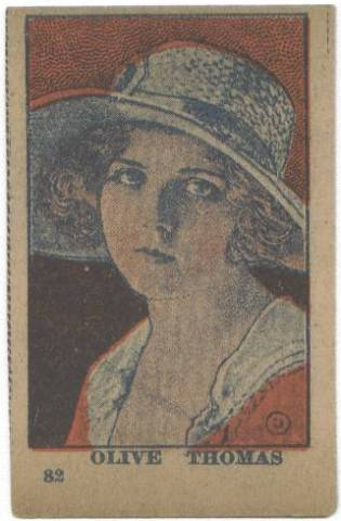 1910's Olive Thomas Strip Card