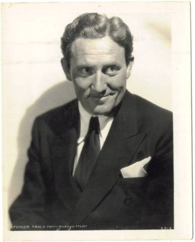 1936 Spencer Tracy MGM-Watkins 4x5 Promotional Photo