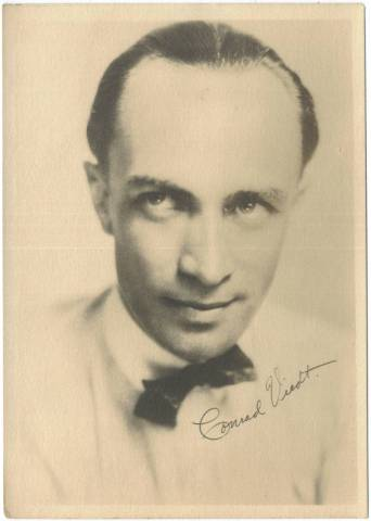 1920's Conrad Veidt 5x7 Fan Photo