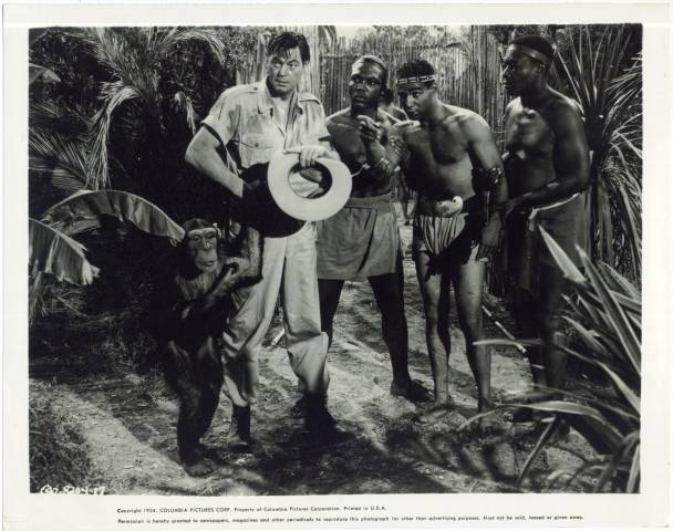 1954 Still Photo of Johnny Weissmuller as Jungle Jim