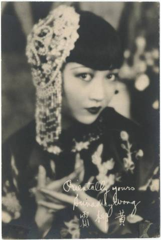 1920's Anna May Wong 5x7 Fan Photo