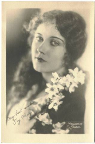 1920's Fay Wray 5x7 Fan Photo