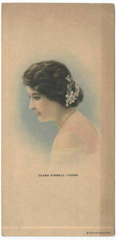 1917 Clara Kimball Young Strand Theatre Ad Card
