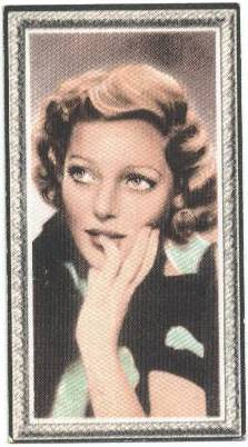 Loretta Young - 1936 Godfrey Phillips Stars of the Screen