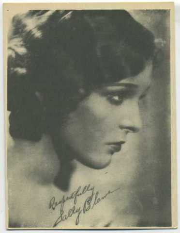 Sally Blane - 1920s-30s W618 Kashin Motion Picture Stars Photo