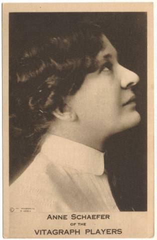 Anne Schaefer - 1911 Vitagraph Players Card