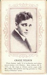 Circa 1915 Crane Wilbur Ornate Pink Border Trading Card