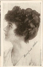 Winifred Allen - 1917 Kromo Gravure Trading Card from Box 4