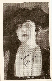 Naomi Childers - 1917 Kromo Gravure Trading Card from Box 4