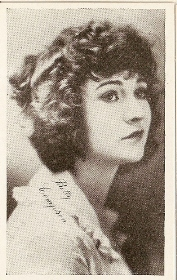 Betty Compson - 1917 Kromo Gravure Trading Card from Box 4