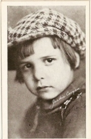 Jackie Coogan - 1917 Kromo Gravure Trading Card from Box 4