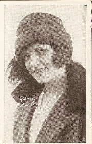 Zena Keefe - 1917 Kromo Gravure Trading Card from Box 4