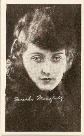 Martha Mansfield - 1917 Kromo Gravure Trading Card from Box 4