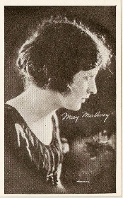 May McAvoy - 1917 Kromo Gravure Trading Card from Box 4