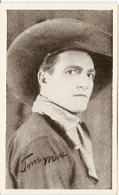Tom Mix - 1917 Kromo Gravure Trading Card from Box 4