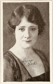 Irene Rich - 1917 Kromo Gravure Trading Card from Box 4