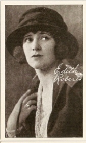 Edith Roberts - 1917 Kromo Gravure Trading Card from Box 4