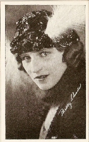 Betty Shade - 1917 Kromo Gravure Trading Card from Box 4