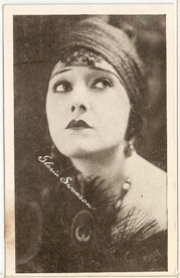 Gloria Swanson - 1917 Kromo Gravure Trading Card from Box 4