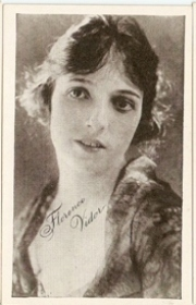 Florence Vidor - 1917 Kromo Gravure Trading Card from Box 4